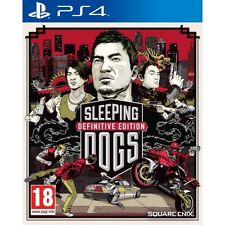 Sleeping Dogs Definitive PS4 Game Brand New