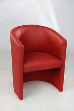 Cocktailsessel Sessel Clubsessel Loungesessel Club Möbel Bürosessel rot Neu