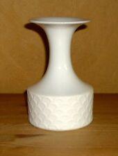 Königl. pr. Tettau 1 Blumenvase, weiß, unterer Teil Bisquit  Porzellan