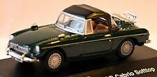 MG B Roadster Soft Top 1962-67 - 1:72 grün green