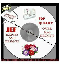 JEF JANOME MACHINE EMBROIDERY DESIGNS ON CD Inc FROZEN & PEPPA PIG BEST ON EBAY