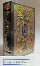 Gustave Dore 'THE HOLY BIBLE KING JAMES VERSION' Brand New LEATHER BOUND Sealed