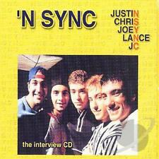 NSYNC ~ The Interview CD [Incl. 16-Page Booklet] ~ NEW!