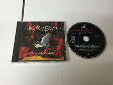THE MISSION CARVED IN SAND CD W.GERMAN PRESS 1990 -