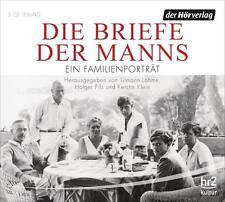 + Die Briefe der Manns : Ein Familienporträt CD HörBuch NEU