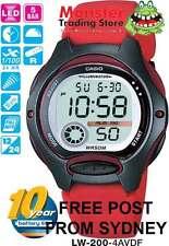 AUSSIE SELLER CASIO WATCH LW-200-4AV LW200 LW-200-4 12-MONTH WARRANTY