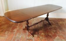 DROP LEAF Coffee SIDE Occasional Table TURNED Wood LEGS Ercol Style Leaves