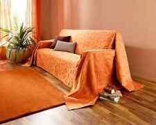 """Überwurf """"Indian Summer"""" (Größe: 210 x 260 cm)OrangeTagesdecke,Überwurf  *NEU*"""
