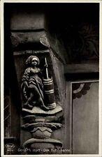 GOSLAR Harz AK um 1950 Niedersachsen Postkarte Motiv Butterhanne Skulptur