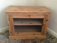 TV Cabinet Cupboard Dresser Drawers Hifi-Fi Unit, Toy Storage Wooden Rustic Chic