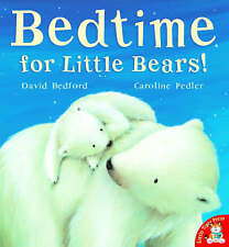 Bedtime for Little Bears Children's Pre-school Paperback Picture Book RRP £6.99