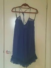 Kookai Ladies Blue Silk Dress BNWT Size 38