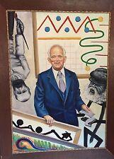 Rudolf Voigt (1925-2007) WAS KUNST IST, BESTIMME ICH ! ( Kunstsammler Ludwig )