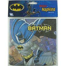 """""""BATMAN""""      Batman Party Table Napkins - Pack of 16!"""