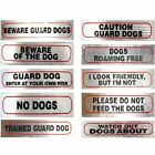 Dog Signs for Dog Owners FREE UK Shipping  Great Choice