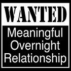 WANTED OVERNIGHT RELATIONSHIP T-SHIRTS FUNNY NOVELTY DO