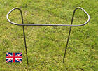 6 x METAL VICTORIAN GARDEN / FLOWER SUPPORT PLANT SUPPORTS- HEAVY DUTY