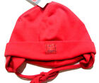 Ergee Cotton Baby Summer Hat With Strings Red Infant