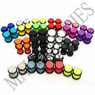 "V011 Fake Cheaters Illusion Faux 16G Ear Plugs Earrings Studs 4G 2G 0G 00G 1/2"" image"