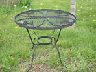 Wrought Iron Childrens Furniture Patio Side Table