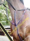 Official Libbys web RUNNING MARTINGALE Pony cob full (15 clrs)