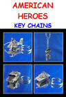 AMERICAN HEROES DESERT STORM FIGURE KEY CHAIN BACKPACK ZIPPER PULLS YOU PICK ONE