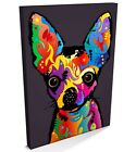 Chihuahua, Chiwawa Pop Art, Box CANVAS A3 to A1 -v87