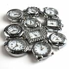 Wholesale 4Pcs Assorted Alloy Beading Quartz Watch Face 13 Styles Choose