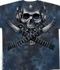 NEW Music High Fidelity Guitar Skull Rock Skeleton Tie Dye T Shirt  M L XL 2X
