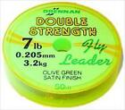 Drennan Double Strength Fly Leader - 50m Spools