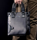Mens Genuine Leather Fashion Business BAG Messenger Shoulder Tote Handbag Purse