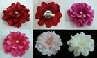 Peony flower Hair Clip and Pin brooch Choose the color