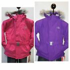NEW GIRL'S THE NORTH FACE GREENLAND JACKET- FUSION PINK O...