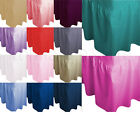 LUXURY PLAIN DYED POLY COTTON FITTED VALANCE SHEET - SOFT FABRIC