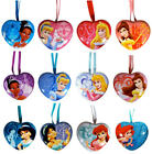 14 DIFFERENT NEW DISNEY PRINCESS HEART SHAPED TINS KEEPSAKE LOCKETS YOU PICK ONE