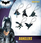 DC COMICS BATMAN DARK KNIGHT FIGURE DANGLER ORNAMENT CHARM PULL -  YOU PICK ONE!