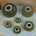Findings Craft Spacer Mesh Round Beads 12mm 14mm 16mm 20mm 25mm 30mm Bronze