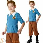 Boys Licensed Tintin Tin Tin Cartoon Book Week Fancy Dress Costume Kids Age 3-8