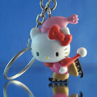 8 NEW SANRIO HELLO KITTY FIGURES CHARMS KEY CHAINS ZIPPER PULL YOU PICK ONE!