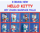 NEW RETIRED SANRIO HELLO KITTY FIGURES CHARMS KEY CHAINS ZIPPER PULL YOU CHOOSE!