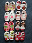 100% soft soled Genuine Leather Baby Girls Shoes Pre walkers and First Walker