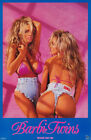 POSTER :BARBI TWINS - SEXY FEMALE MODELS   FREE SHIPPING !     #3334     RC6 L