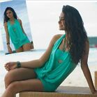 Women's Covering Belly Chic Sexy Padded Swimsuit Swimwear Swimdress 3 Colors