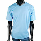 Mens Coolon fabric Fast Drying roundneck solid Casual t-shirt(TP_002)_SkyBlue