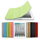 Magnetic Smart Cover Leather Case Stand for Apple iPad 2 3 Wake Up Sleep -