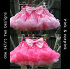 New Design Reversible Beautiful Pettiskirt 1-7 yrs FREE Flower Headband!!