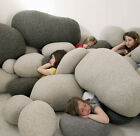 New Huge Large Big Living Stones Shape  Pillow Cushion
