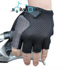 Sale NEW Cycling Bike Bicycle Half Finger breathe freely Gloves Size M-XL Black
