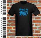 MADE IN 1960 - T-SHIRT - All SIZES + COLS (60s Birthday Present Gift Dad Father)