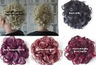 Super Classy Extra Large  Wedding Curly Hair Ponytail  Scrunchie Hairpiece